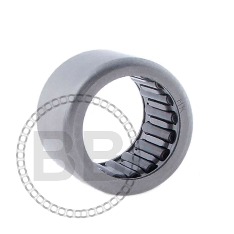 BK0509 Budget Drawn Cup Needle Roller Bearing with One Closed End 5x9x9mm