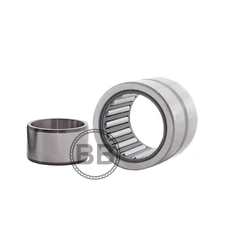 NKS40 Budget Needle Roller Bearing with Flanges no Shaft Sleeve 40x55x22mm