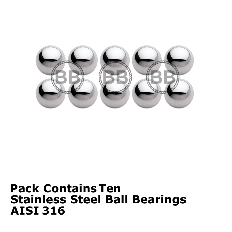 5 pcs 440C Stainless Steel Ball 14 mm Dia