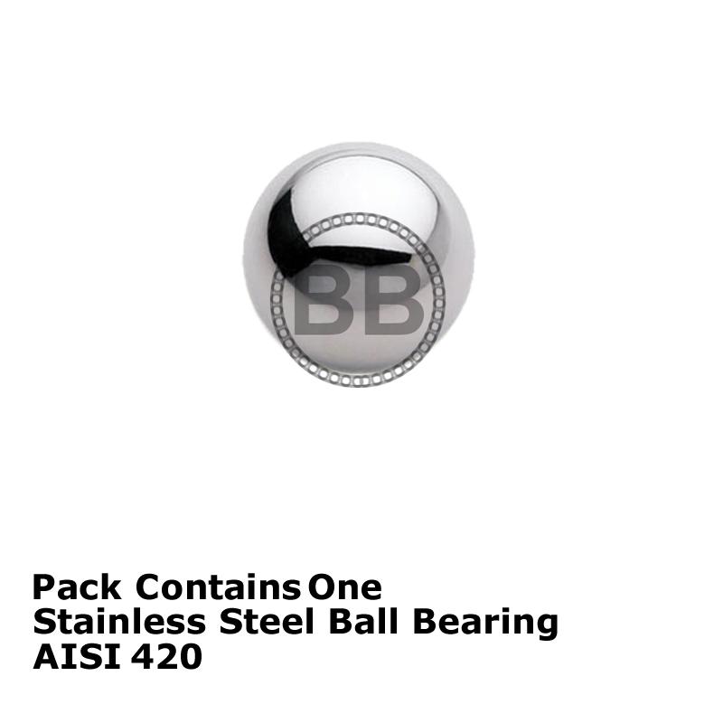 1mm 2mm 2.5mm 3mm 4mm 5mm 6mm 10 Pack Loose Ball Bearings Grade 100.