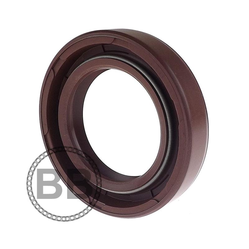 15x26x7mm Oil Seal Nitrile Rubber Double Lip R23//TC 15mm Shaft