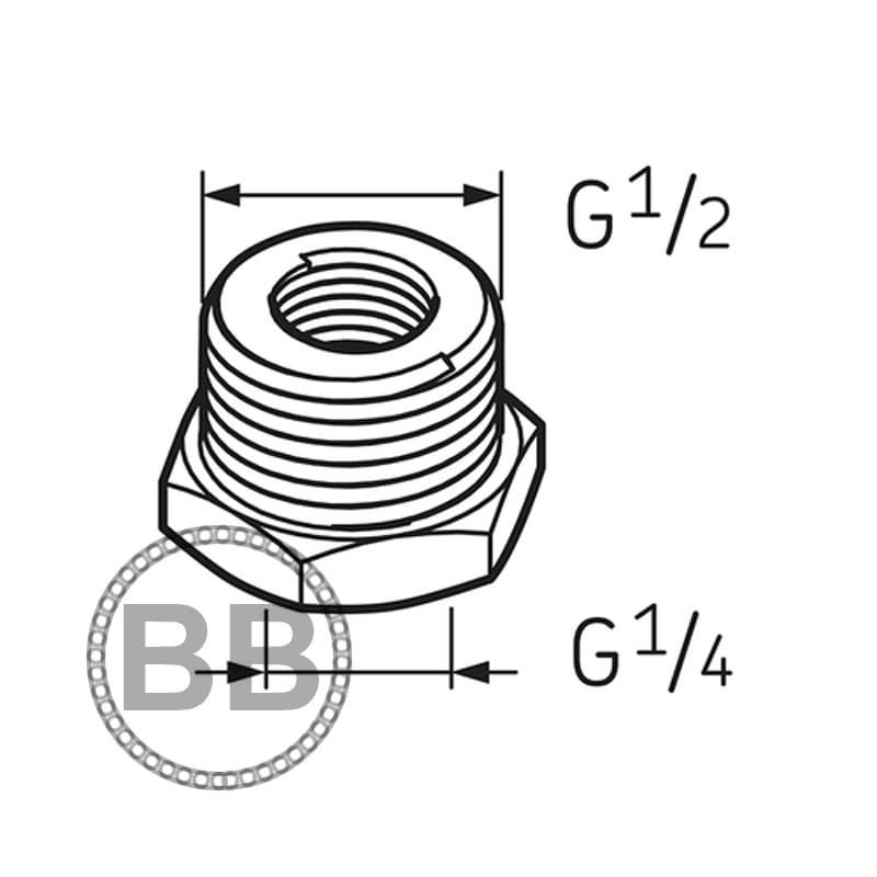 Skf Lapn12 Nipple G14